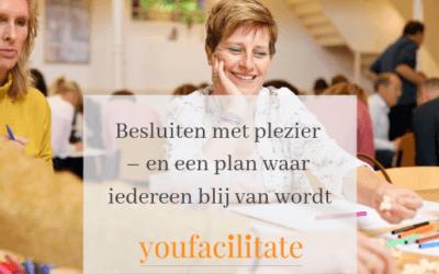 Besluiten met plezier – en een plan waar iedereen blij van wordt