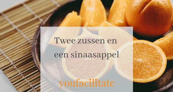Twee zussen en een sinaasappel