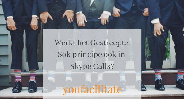 Werkt het Gestreepte Sok principe ook in Skype Calls?
